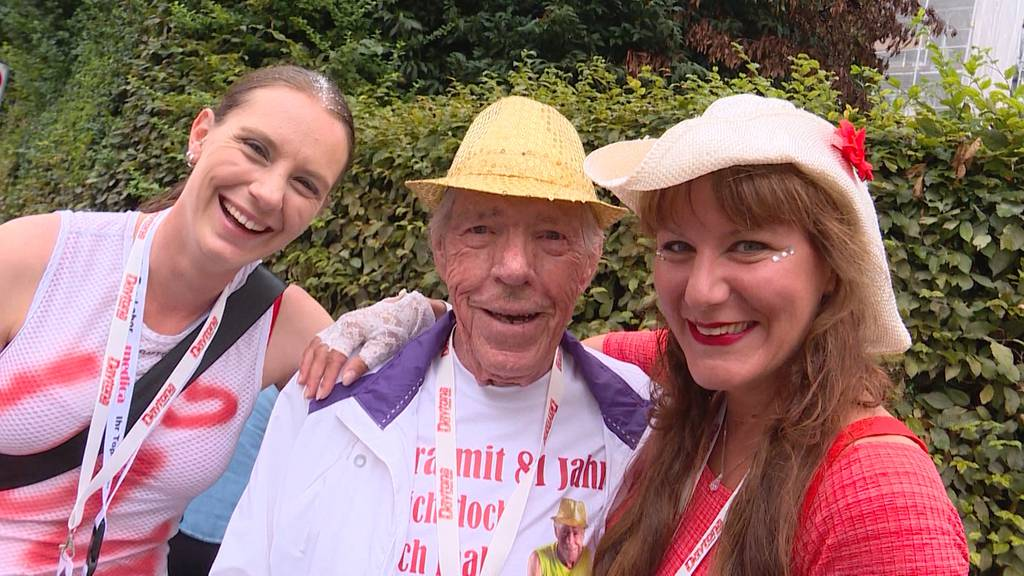 Ruedi Seehofer: 81-jährig und immer noch eine Partynudel