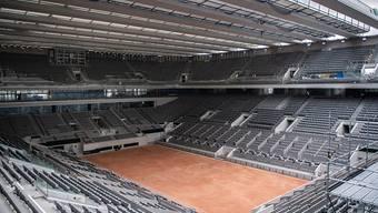 Auf dem neu überdachten Center Court in Paris soll nun am 11. Oktober der Final der French Open über die Bühne gehen
