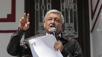 Der künftiger Präsident Mexikos, Andrés Manuel López Obrador, verzichtet auf einen Teil seines Gehaltes und will mit gutem Beispiel bei Sparmassnahmen in der öffentlichen Verwaltung vorausgehen.