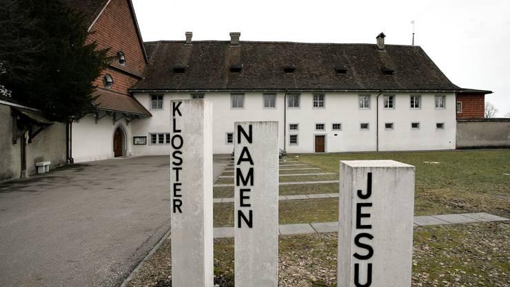 Blick auf das Frauenkloster Namen Jesu in Solothurn
