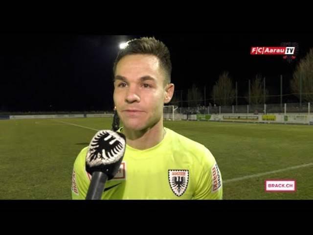 FC Rapperswil-Jona-FC Aarau 2:0 – Stimmen zum Spiel