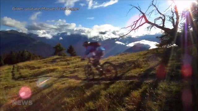 Absichtliche Fallen gegen Mountainbiker