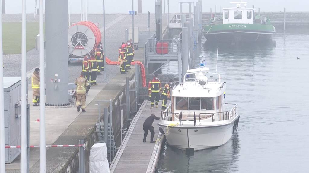 Altenrhein (SG): Flugzeug stürzt bei Landeanflug in Bodensee - Pilot gerettet