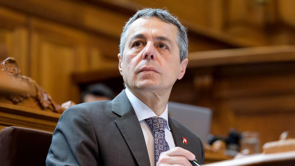 Bundesrat Cassis: «China kommt vom Weg der Öffnung ab»