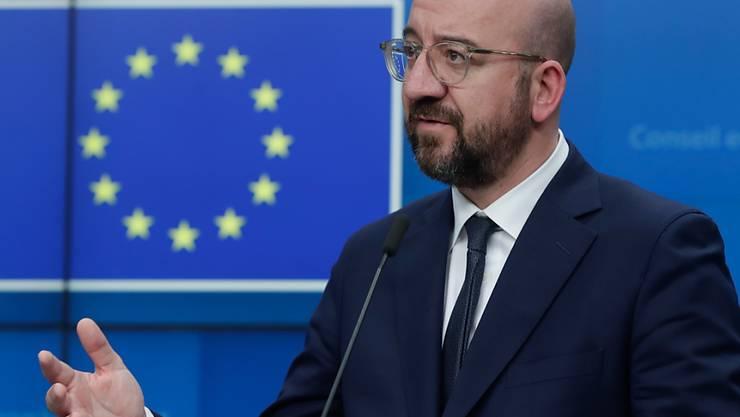 EU-Ratspräsident Charles Michel versucht, die Wirtschaftsvertreter in der Europäischen Union zu beruhigen.