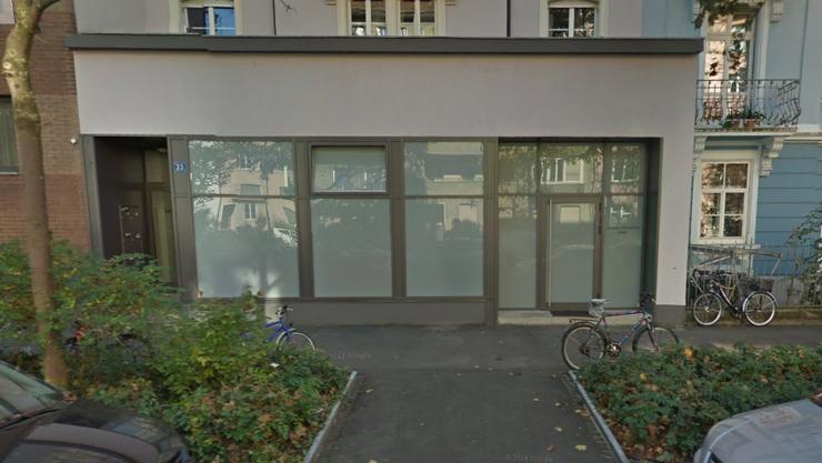 Das Gebäude in der Ahornstrasse wurde als einziges beschädigt. (Google Streetview)