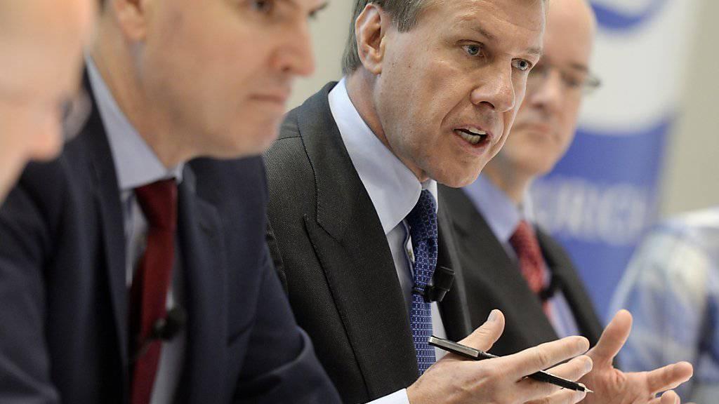 Zurich-Chef Martin Senn arbeitet an einem Milliarden-Deal mit der englischen RSA.