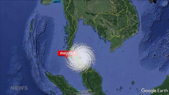Thailand erwartet den Sturm des Jahrzehnts