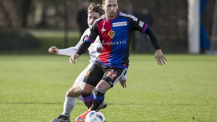 Renato Steffen im FCB-Dress.