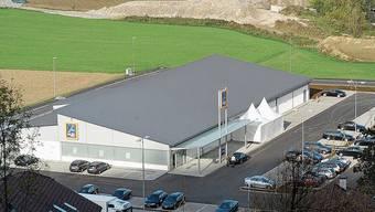 Noch allein auf weiter Flur: Aldi war 2005 der erste Detailhändler im Geelig.