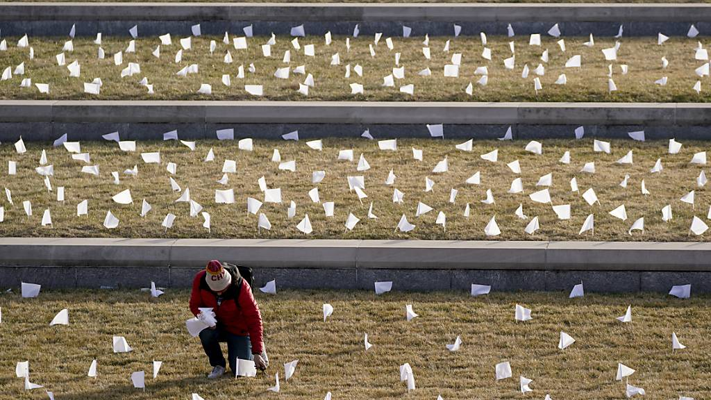 USA mit zweithöchstem Tageswert bei Corona-Toten