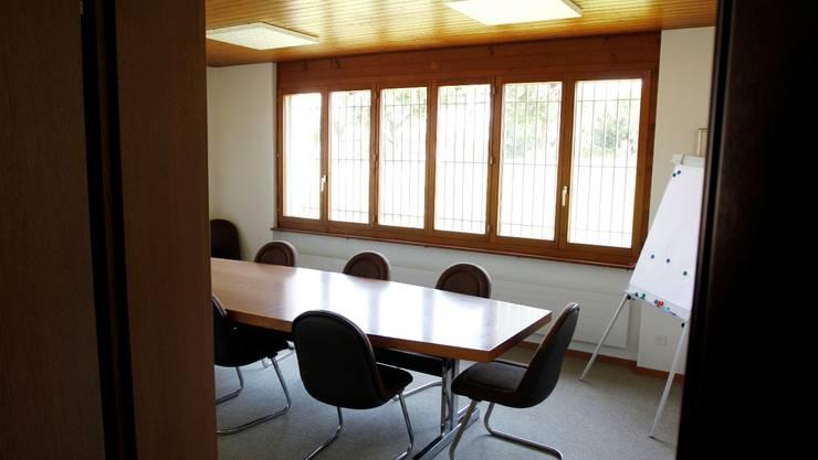 Die Stühle im Gemeinderatszimmer bleiben unbesetzt. hp. Bärtschi