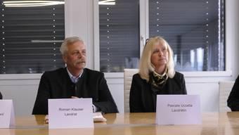 Rene Imhof, Roman Klauser und Pascale Uccella nehmen Stellung zu den Vorgängen in der SVP Allschwil.
