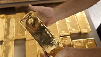Weltweit ist die Nachfrage nach Gold auf tiefsten Stand seit zehn Jahren gefallen. (Archiv)