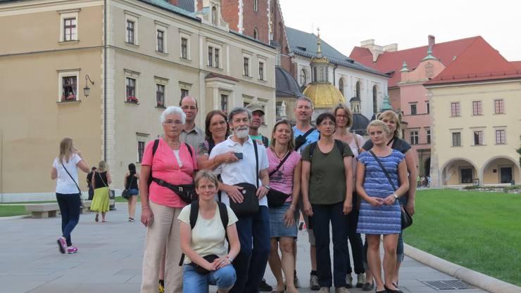 Die Ueker Samariter beim Schloss Wawel