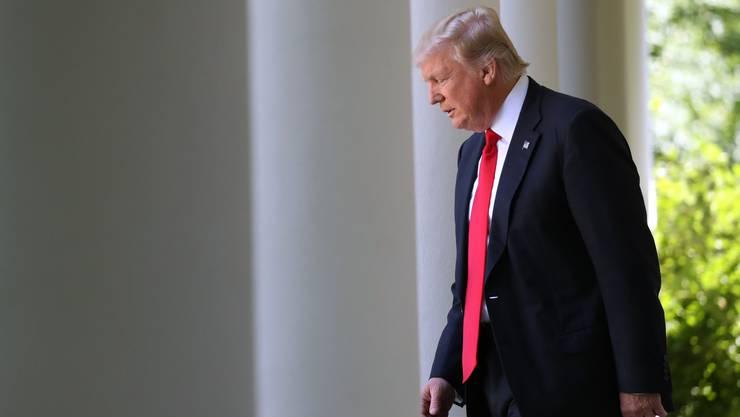 Donald Trump dürfte über die neusten Zahlen zum US-Haushalt nicht erfreut sein. (Archiv)