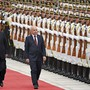 Seite an Seite mit China: Bundespräsident Ueli Maurer beim Staatsbesuch mit Chinas Präsident Xi Jinping.