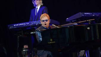 Elton John am Stimmen-Festival 2014 in Lörrach