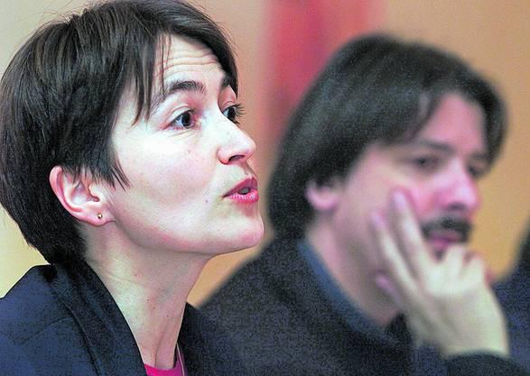 Von 2001 bis 2004 arbeitete Regula Rytz als Zentralsekretärin des Gewerkschaftsbunds.