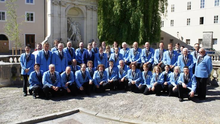Die Musikgesellschaft Recherswil in Salzburg