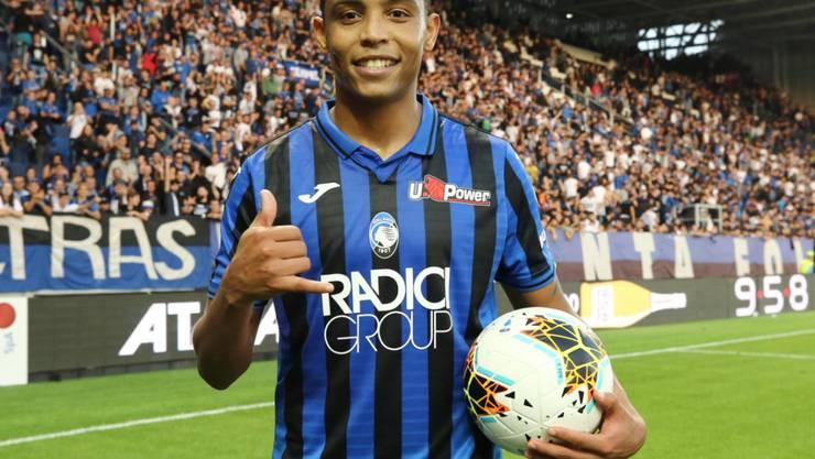 Luis Muriel schoss drei Tore für Atalanta Bergamo
