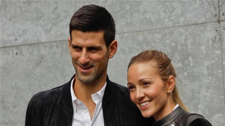 Novak Djokovic und seine Jelena sind seit vier Jahren verheiratet. Key