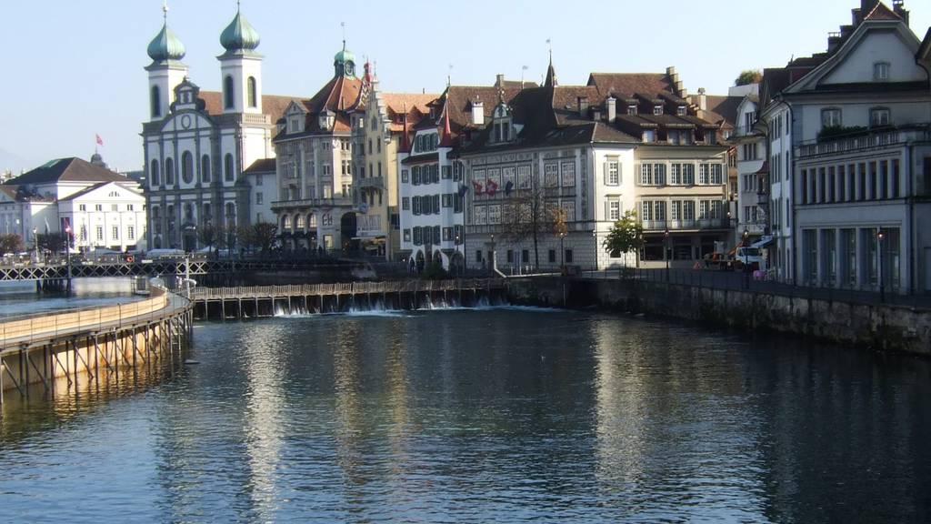 Stadt Luzern erhöht Abwasser-Gebühr deutlich