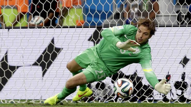 Ersatztorhüter Tim Krul hält zwei Penaltys der Costa Ricaner