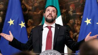 Italiens Innenminister Matteo Salvini: Von Rom aus schmiedet er ein Bündnis der europäischen Rechtsparteien. Riccardo Antimiani/ANSA AP
