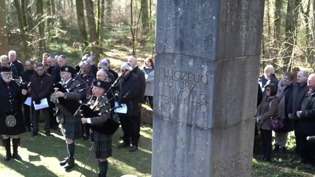 Gedenkanlass für Flugzeugabsturz in Würenlingen