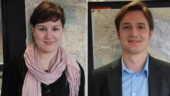 Sabrina Gyr (22) aus Birr und Matthias Schöpp (25) aus Möriken. ksc