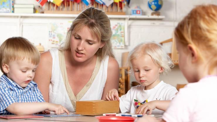 Glauben, dass sie weniger verdienen, weil sie Frauen sind: die Basler Kindergarten-Lehrerinnen.