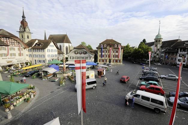 Markt am Samstag in Zofingen