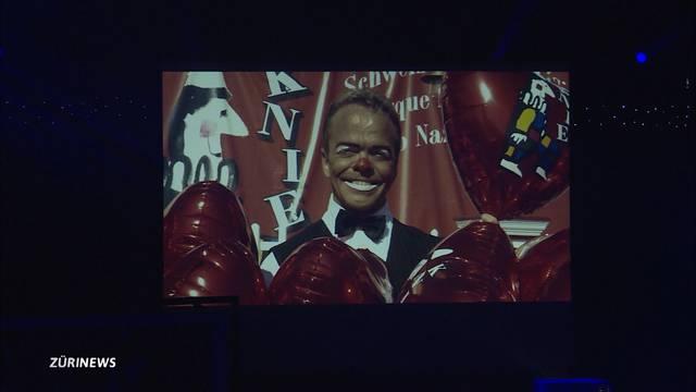 Abschied nehmen von Knie-Clown Spidi
