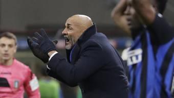 Inter Mailand und Trainer Luciano Spalletti gelang der Start in das neue Jahr in der Serie A nicht nach Wunsch