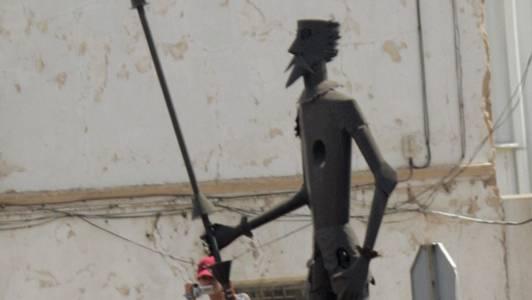 Mit ihm wurde Held immer verglichen: Don Quijote.