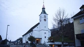 In der Römisch-katholischen Kirche Grellingen ist die Stimmung derzeit nicht allzu weihnachtlich.