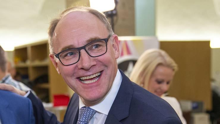 Hansjörg Knecht, SVP. bisher, 73'587 Stimmen. – Er ist im 2. Wahlgang am 24. November zum Ständerat gewählt worden.