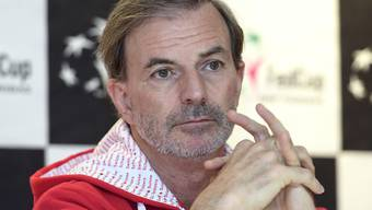 Fedcup-Teamcaptain Heinz Günthardt kann im Halbfinal in Weissrussland im Schweizer Team auf seine Bestbesetzung zählen