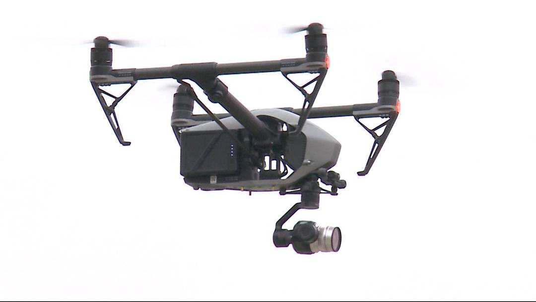 Drohnenshow visualisiert Ausmasse des Aarauer Stadions