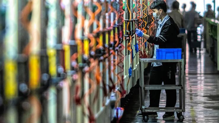 Die USA erheben zusätzliche Zölle auf Waren aus China. (Archivbild)