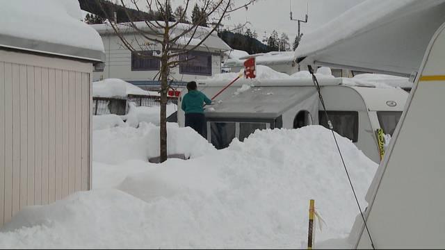 Camping im Schnee: Teil 1