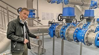 Ein Blick in das grösste Wasserreservoir des Aargaus (15.12.2020)