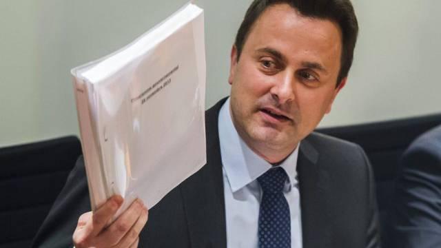 Luxemburgs neuer Premier Xavier Bettel (Archiv)