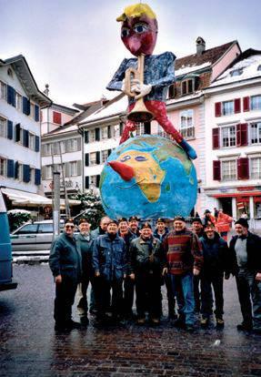 2006 - Weltkugel mit Böögg