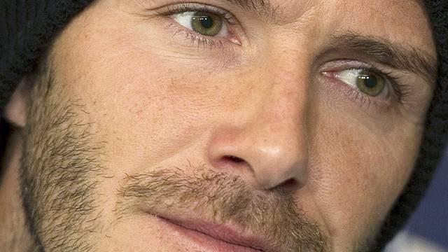Übersteht Auffahrunfall unbeschadet: David Beckham (Archiv)