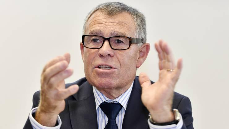 Ernst Stocker sagte, bei einer weiteren Gewinnsteuersenkung müsse man über eine soziale Kompensation nachdenken.