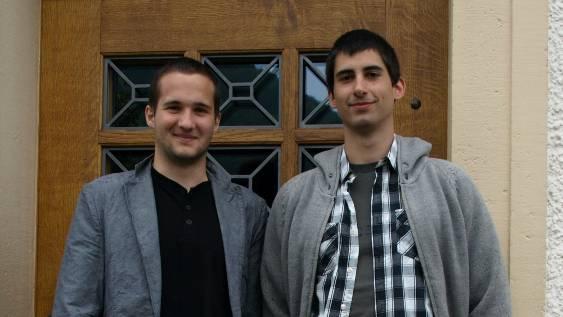 Marco Hennet und Matthias Müller zeigen auf, wie die Gemeinde Wittnau zu einer umweltschonenden Energiepolitik kommt.  HUG