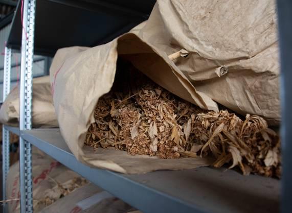 Die Polizei hat Drogen mit einem Strassenwert von rund 24 Millionen Schweizer Franken verbrannt.