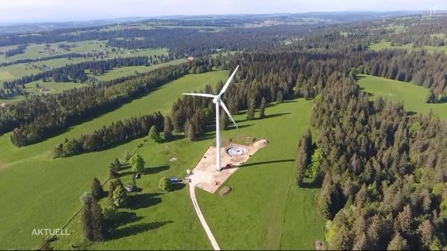 Grenchner Windpark: Bundesgericht lehnt Einsprachen ab